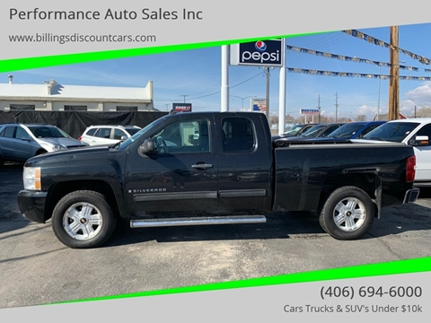 2009 Chevrolet Silverado 1500 for sale in Billings, MT