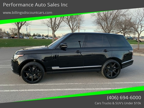 2015 Land Rover Range Rover for sale in Billings, MT