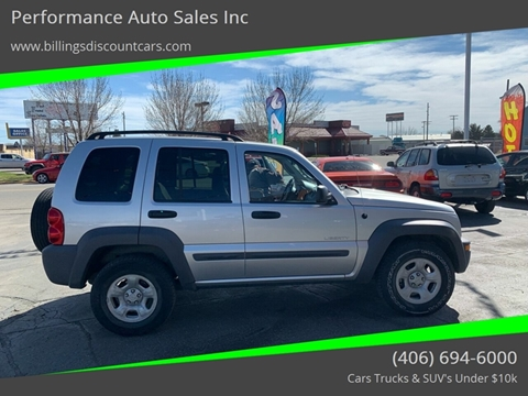 2004 Jeep Liberty for sale in Billings, MT