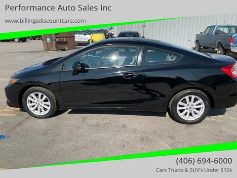 2012 Honda Civic for sale in Billings, MT