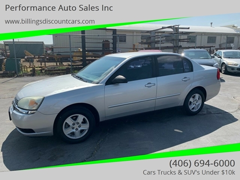 2005 Chevrolet Malibu for sale in Billings, MT
