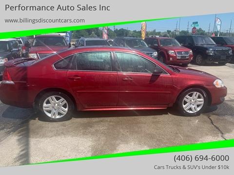 2011 Chevrolet Impala for sale in Billings, MT