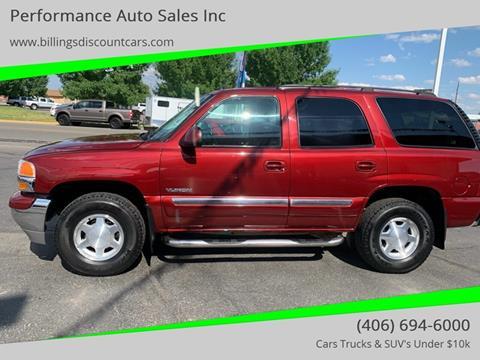 2003 GMC Yukon for sale in Billings, MT