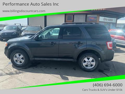 Ford Billings Mt >> 2009 Ford Escape For Sale In Billings Mt
