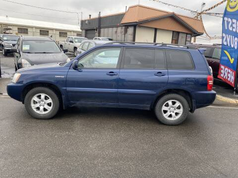 2003 Toyota Highlander for sale at Performance Auto Sales Inc in Billings MT