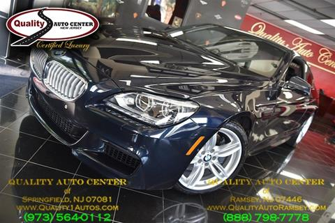 2014 BMW 6 Series for sale in Ramsey, NJ