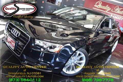 2014 Audi A5 for sale in Ramsey, NJ
