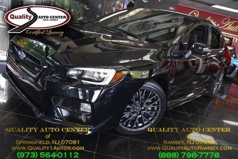 2016 Subaru WRX for sale in Ramsey, NJ