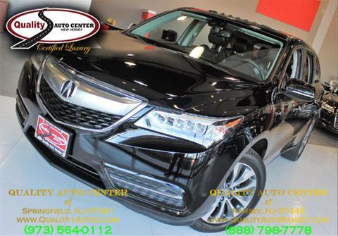 2014 Acura MDX for sale in Ramsey, NJ