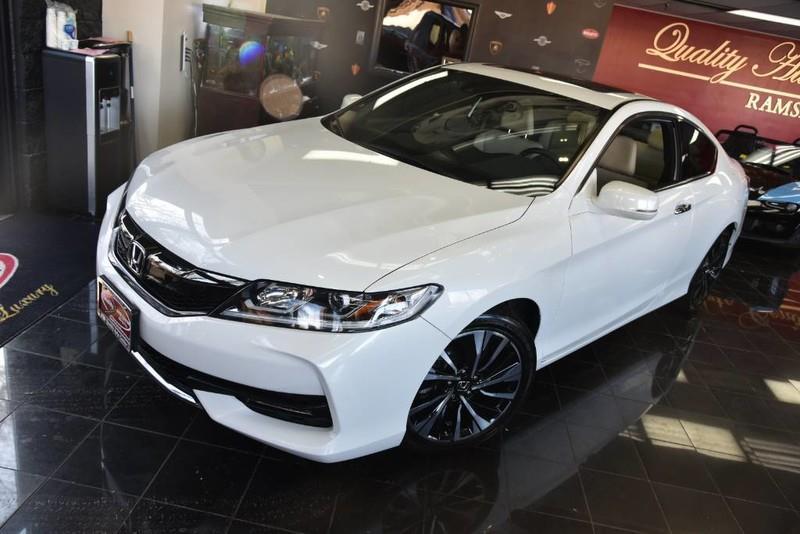 2016 Honda Accord EX-L 2dr Coupe w/Navi and Honda Sensing In Ramsey