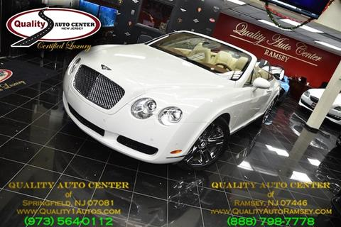 2007 Bentley Continental GTC for sale in Ramsey, NJ