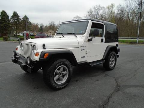 2001 Jeep Wrangler for sale in Elizabethtown, PA