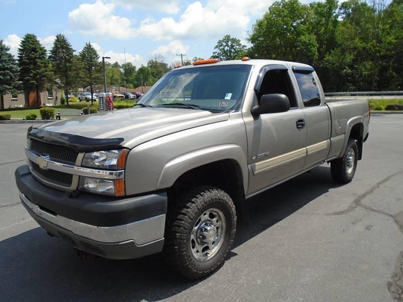 2003 Silverado 2500hd >> 2003 Chevrolet Silverado 2500hd 4dr Extended Cab Ls 4wd Sb