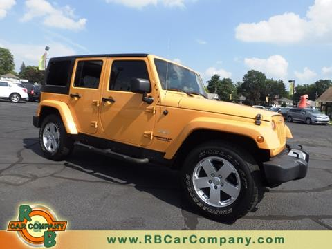 2012 Jeep Wrangler Unlimited for sale in Warsaw, IN