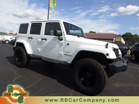 2013 Jeep Wrangler Unlimited for sale in Warsaw, IN