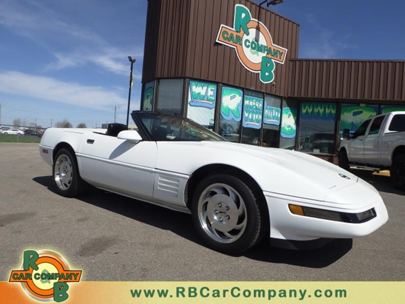 Car Company Warsaw: 1993 Chevrolet Corvette 2dr Convertible In Warsaw IN