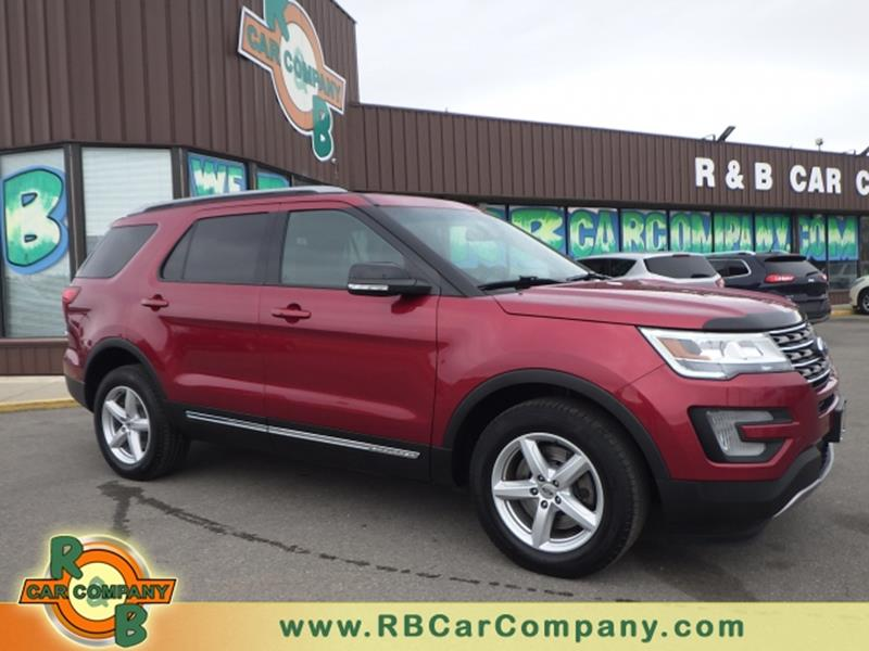 Car Company Warsaw: 2016 Ford Explorer AWD XLT 4dr SUV In Warsaw IN