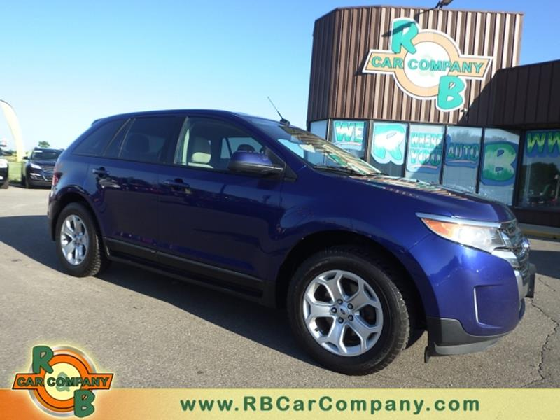 Car Company Warsaw: 2013 Ford Edge SEL 4dr Crossover In Warsaw IN