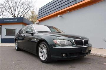 2006 BMW 7 Series for sale in Scotch Plains NJ