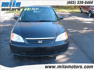 2003 Honda Civic for sale in Londonderry, NH