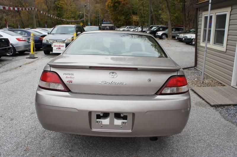1999 Toyota Camry Solara SE V6 2dr Coupe - York PA