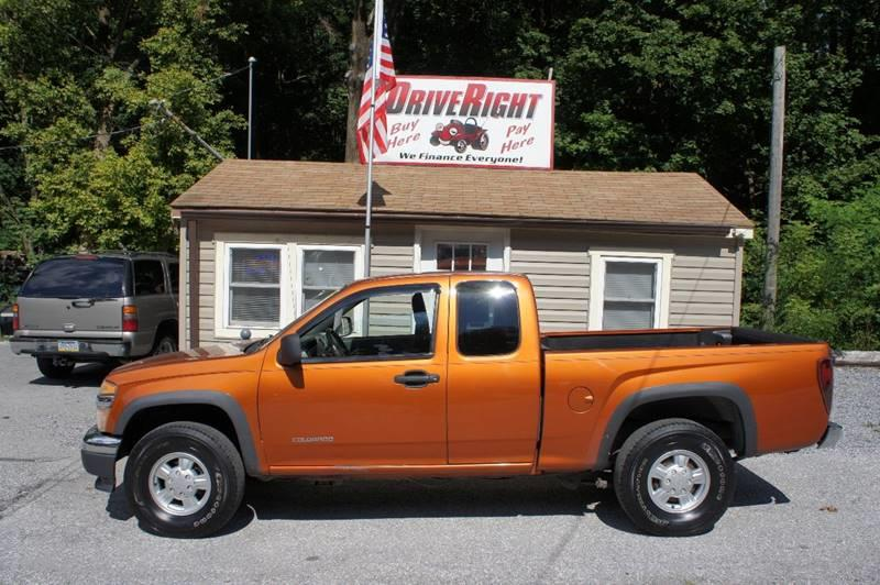 2005 Chevrolet Colorado 4dr Extended Cab Z85 4WD SB - York PA