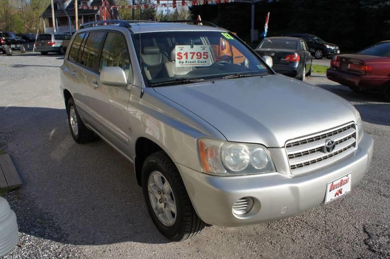 2003 Toyota Highlander AWD Limited 4dr SUV - York PA