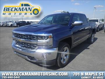 2017 Chevrolet Silverado 1500 for sale in Garnett, KS