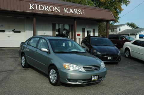 2004 Toyota Corolla for sale in Orrville OH