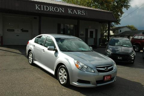 2012 Subaru Legacy for sale in Orrville OH