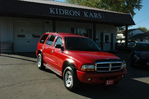 2003 Dodge Durango for sale in Orrville OH