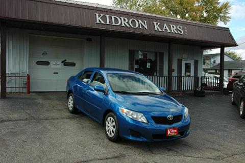 2009 Toyota Corolla for sale in Orrville OH