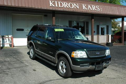 2002 Ford Explorer for sale in Orrville OH