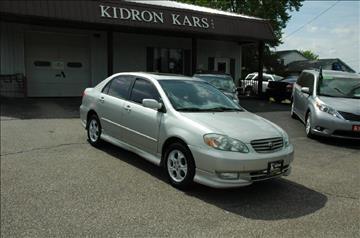 2003 Toyota Corolla for sale in Orrville, OH