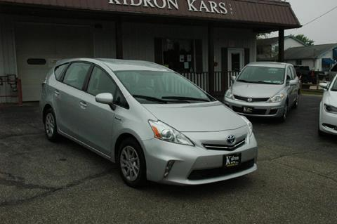 2012 Toyota Prius v for sale in Orrville OH