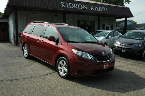 2013 Toyota Sienna for sale in Orrville OH