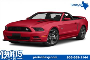2014 Ford Mustang for sale in Paris, TX