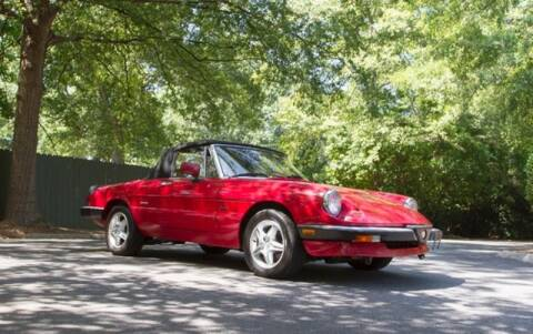 1990 Alfa Romeo Spider for sale at Roadtrip Carolinas in Greenville SC