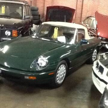 1991 Alfa Romeo Spider for sale at Roadtrip Carolinas in Greenville SC