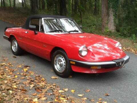 1986 Alfa Romeo Spider for sale at Roadtrip Carolinas in Greenville SC