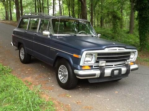 1989 Jeep Grand Wagoneer for sale in Greenville, SC
