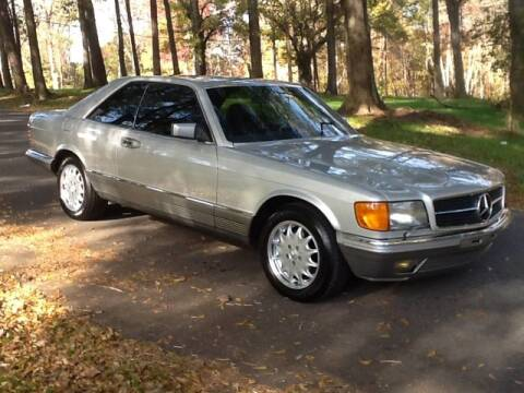 1984 Mercedes-Benz 380 SEC for sale at Roadtrip Carolinas in Greenville SC