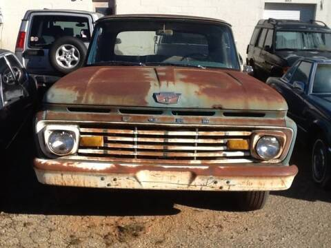 1963 Ford F100 Longbed for sale at Roadtrip Carolinas in Greenville SC