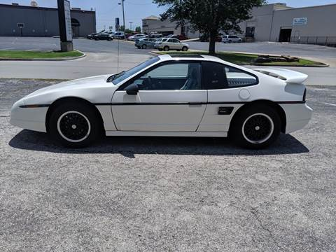 1988 Pontiac Fiero for sale in Tulsa, OK