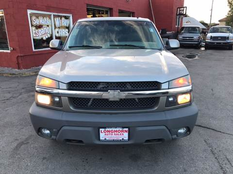 2002 Chevrolet Avalanche for sale in Milwaukee, WI
