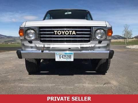 1985 Toyota Land Cruiser For Sale In Jacksonville, FL