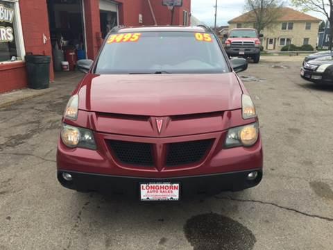 2005 Pontiac Aztek for sale in Milwaukee, WI