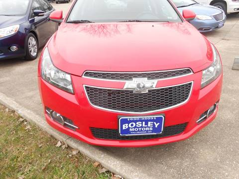 2014 Chevrolet Cruze 1LT Auto for sale at BOSLEY MOTORS INC in Tallmadge OH