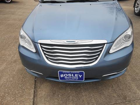 2011 Chrysler 200 Convertible Limited for sale at BOSLEY MOTORS INC in Tallmadge OH