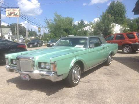 1971 Lincoln Mark III for sale in Adams, WI
